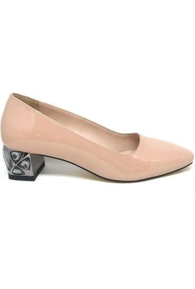 Shop And Shoes 001-4328265 Bayan Ayakkabı Ten Rugan