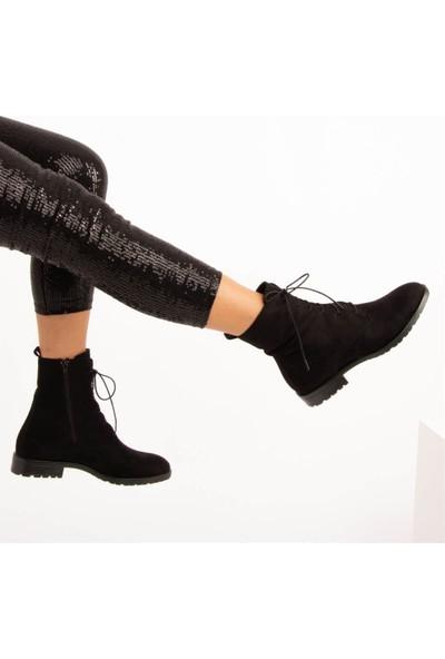 Fox Shoes Siyah Kadın Bot E288496002