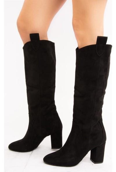Fox Shoes Siyah Kadın Çizme E340807102