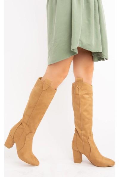 Fox Shoes Camel Kadın Çizme E340807102