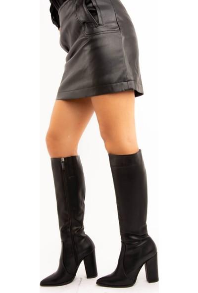 Fox Shoes Siyah Kadın Çizme E643213909