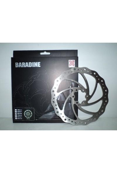 Baradine Rotor DB-02 6 Vida 203mm Gri 203mm