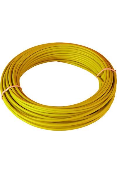 BS Vites Dış Kablo Teflon Kaplı 1mt Sarı