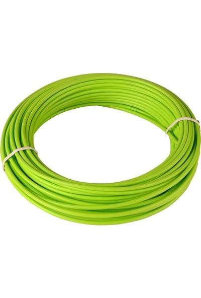 BS Vites Dış Kablo Teflon Kaplı 1mt Yeşil