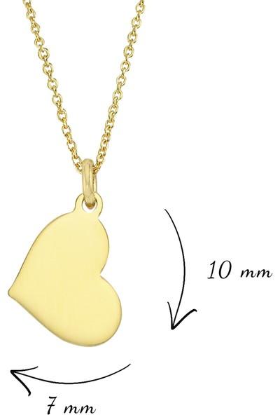 AltınSepeti Kalp Altın Kolye AS1425GKL