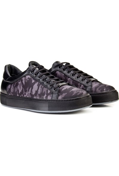 Cabani Bağcıklı Sneaker Erkek Ayakkabı Vizon Nubuk