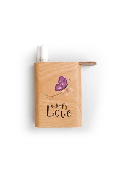 Zuula Sigara Tabakası Kelebek Aşkı(Butterfly Love) Logolu