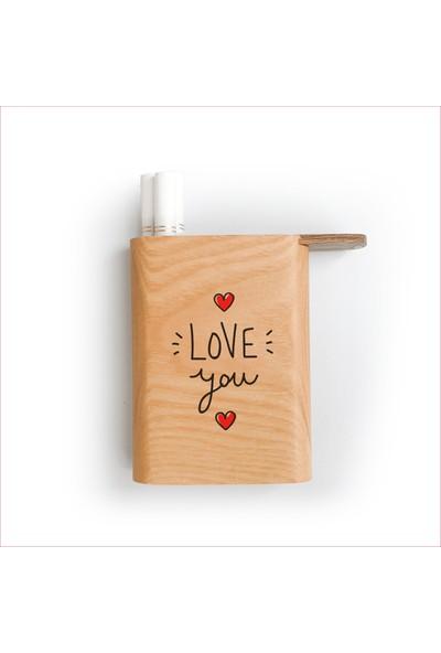 Zuula Sigara Tabakası Love You Logolu