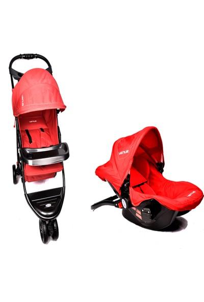 Venue VN-6715 Jogger Travel Set 3 Tekerlekli Lüx Bebek Arabası