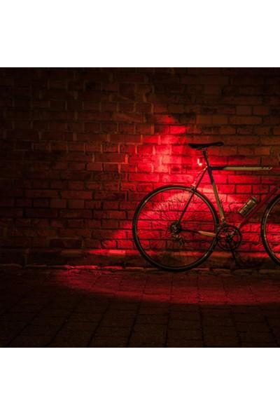 Guee Arka Işık Mini RS Usb Şarjlı Siyah