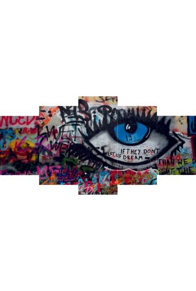Reticolor Graffiti Yazı Mdf Tablo