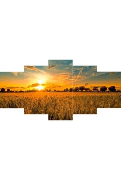 Reticolor Buğday Tarlası Mdf Tablo