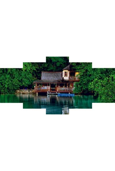Reticolor Göl Manzaralı Mdf Tablo