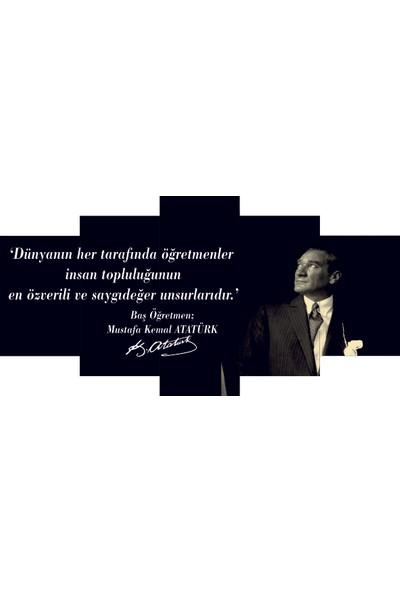 Reticolor Başöğretmen Mustafa Kemal Atatürk Mdf Tablo