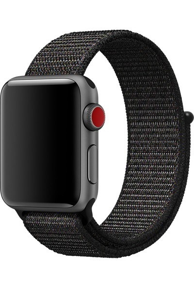 Akıllıphone Ally Apple Watch İçin 42Mm 1,2,3 Nylon Loop Kayış,Kordon