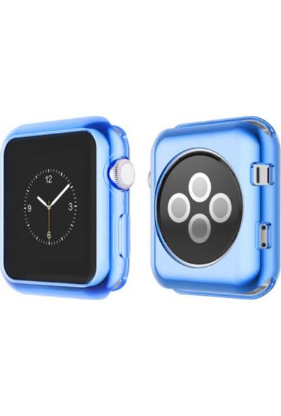 Akıllıphone Ally Apple Watch İçin 38Mm 1,2,3 Ultra Slim Parlak Bumper Tpu Kılıf
