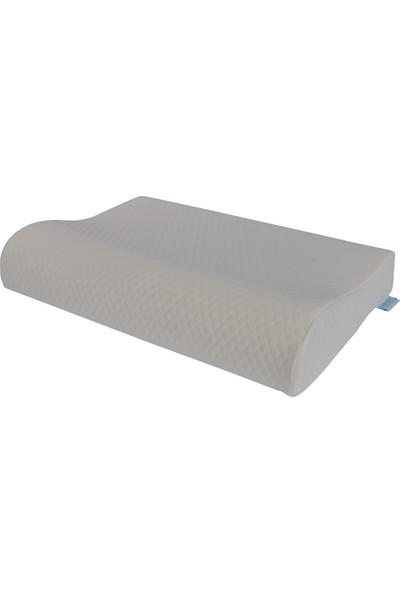 Boyun Destekli Visco Yastık 60 x 40 cm Rahat Uyku Ya