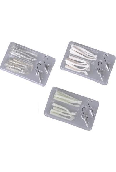 Savage gear Lrf Micro Sandeel Kit 12 Adet(1+1.5+5) Suni Yem