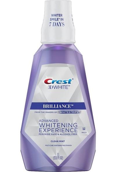 Crest 3D White Brilliance Ağız Bakım Gargarası 1 lt