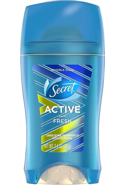 Secret Active Fresh Antiperspirant Deodorant 73 gr