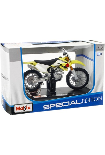 Maisto Suzuki RM-Z250 1:18 Model Motorsiklet