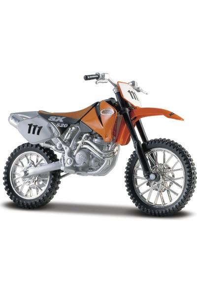 Maisto KTM 520 SX 1:18 Model Motorsiklet