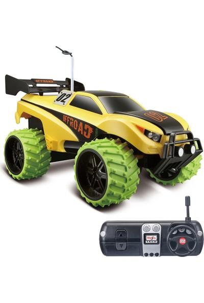 Maisto Tech 1:16 Off-Road Dune Blaster Uzaktan Kumandalı Araba Sarı