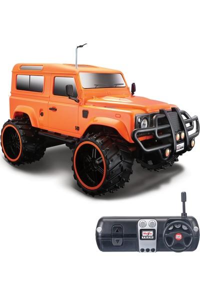 Maisto Tech 1:16 Off Road Land Rover Defender U/K Araba Turuncu
