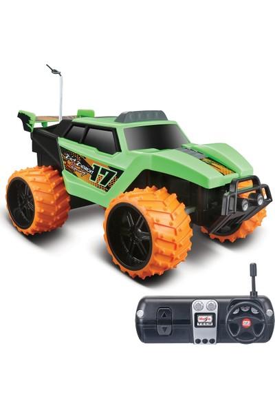 Maisto Tech 1:16 Off-Road Dirt Demon U/K Araba Yeşil