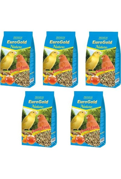 Eurogold Kanarya Yemi 500gr 5 Adet
