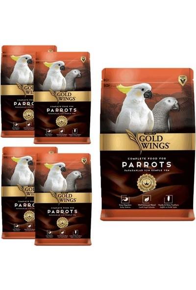 Gold Wings Premium Papağan Yemi 750gr 5 Adet
