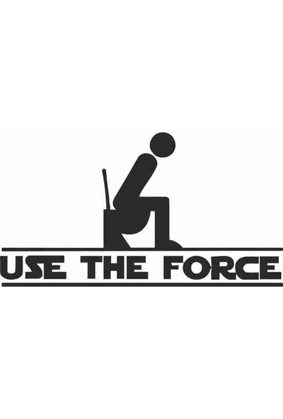 Ejoya Use The Force Banyo Sticker 78987