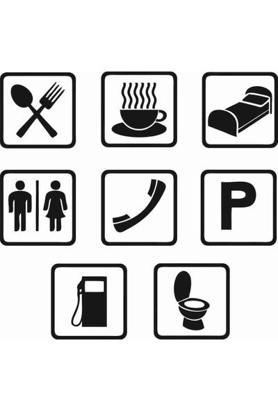 Ejoya Tuvalet ve İşaretler Banyo Sticker 78993
