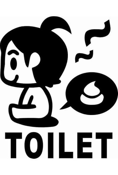 Ejoya Tuvalet Küçük Kız Sticker 78998