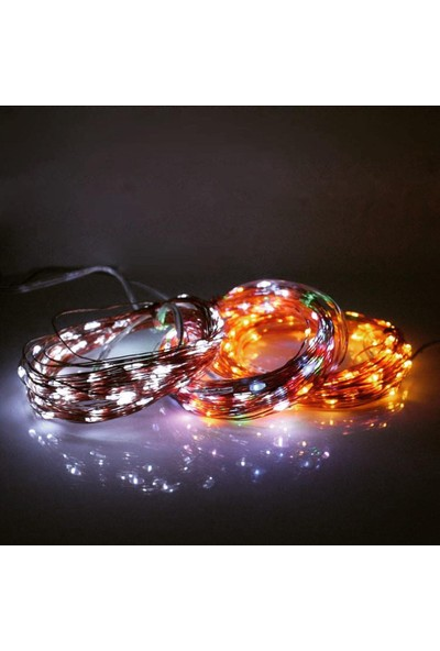 Can Pilli Led Işık Renkli 2mt Yılbaşı Süsü