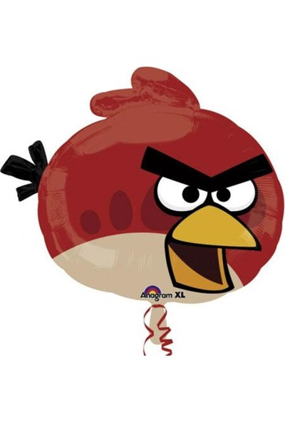 Party Shop Angry Birds Red, Supershape Folyo Balon