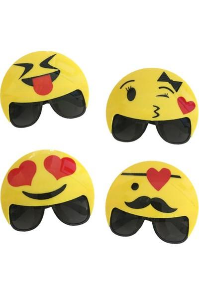 Party Shop Emoji Parti Büyük Gözlük