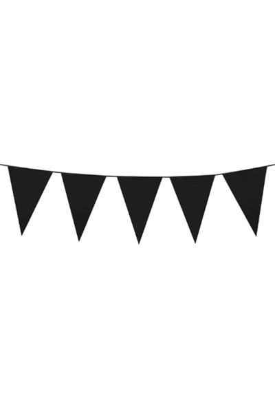 Party Shop Siyah Büyük Bayrak Dizisi, 10M