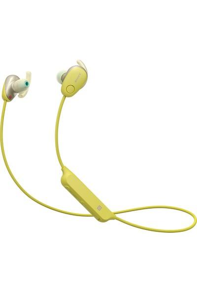 Sony WI-SP600NY Gürültü Önleyici Kablosuz Kulak İçi Spor Kulaklığı - Sarı