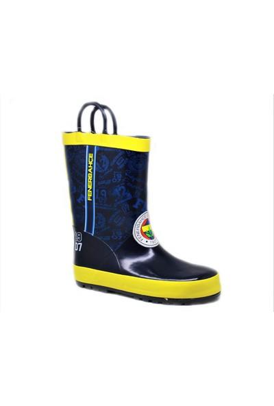 Fenerbahçe Çocuk Su Geçirmez Yağmur Çizmesi