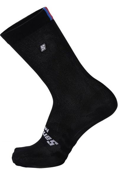Santini Çorap Ucı Rainbow Siyah 44-47