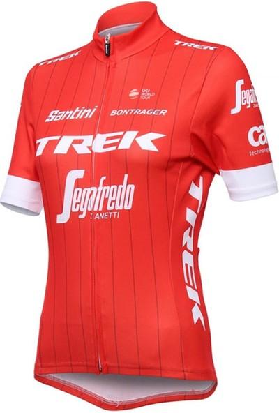 Santini Forma Trek Segafredo Kadın Kırmızı S