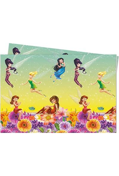 Partijet Disney Tinkerbell Fairies Plastik Masa Örtüsü 120x180 cm