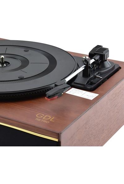 GDL Retro Tr-W275 Gramofon Pikap + Yedek İğne