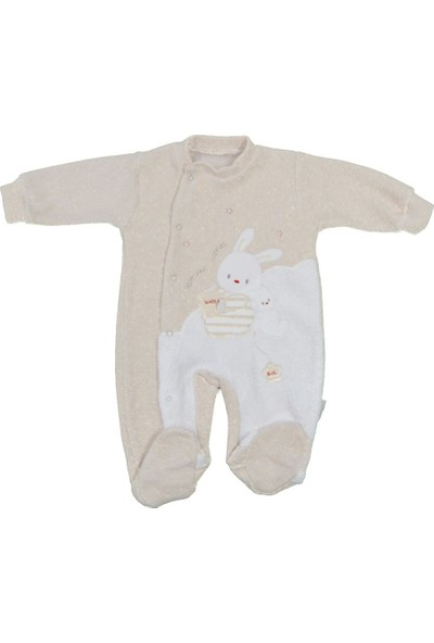 Babybal Baby Kadife Bebek Tulumu 2013
