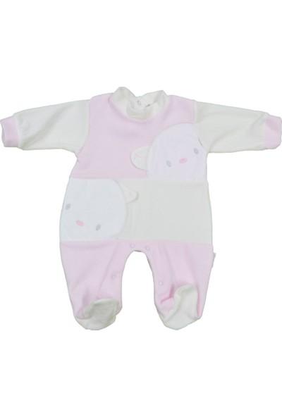Babybal Baby Kadife Bebek Tulumu 2032