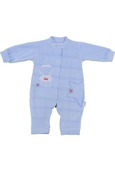 Babybal Baby Kadife Patiksiz Bebek Tulumu 2028