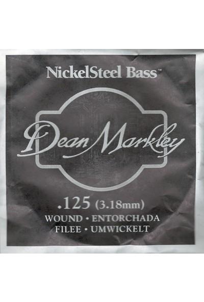 Dean Markley Nickel Steel Bass .125 Bas Gitar Tek Tel