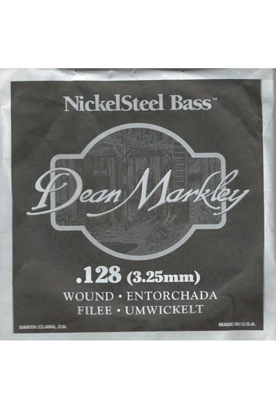 Dean Markley Nickel Steel Bass .128 Bas Gitar Tek Tel