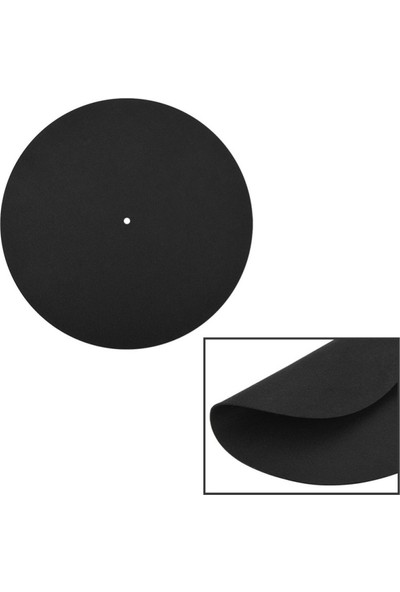 Gdl Retro Antistatik Siyah Ped Keçe 200X9 Mm